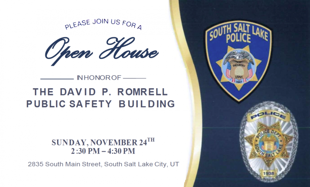 Open House - Public Safety Building