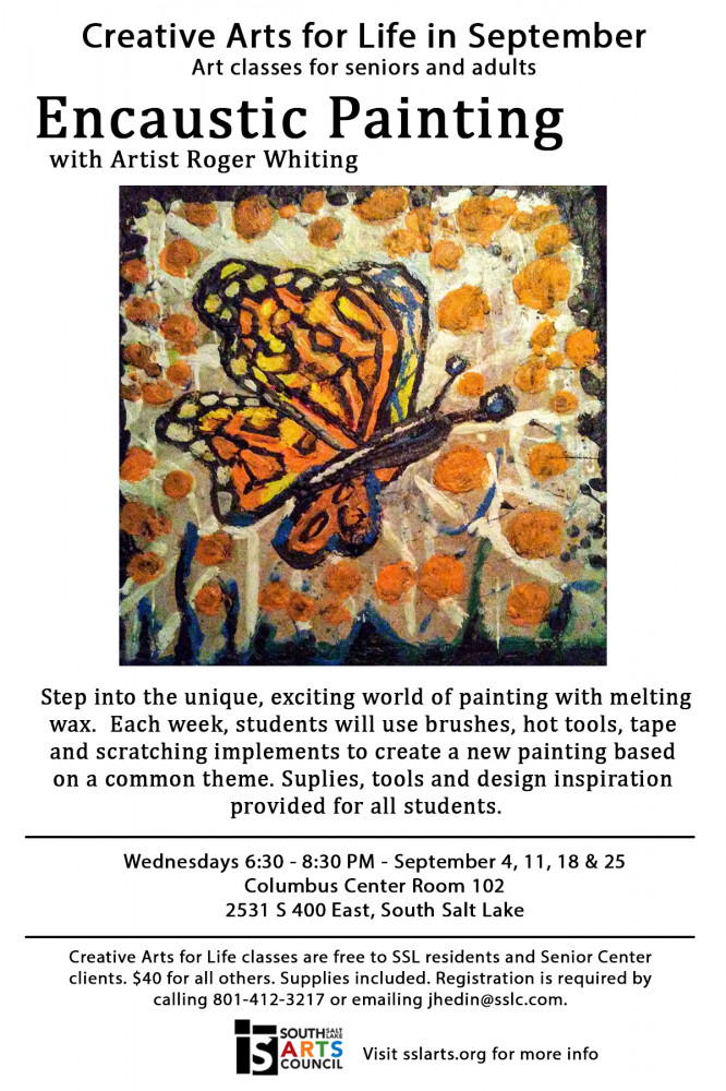 September Encaustic Painting Class